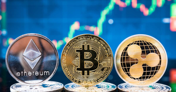 3 Reasons Bitcoin, Ethereum, and Ripple's XRP Price Will Surge Higher This Week