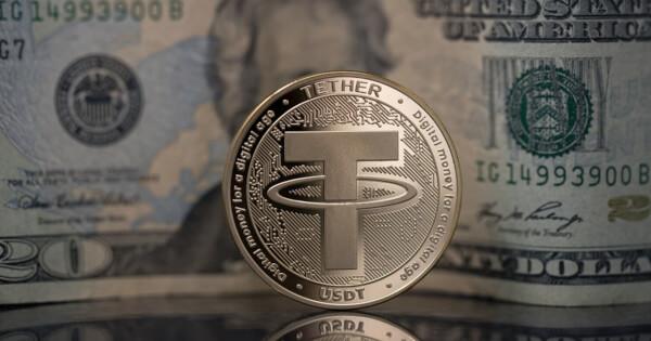 Tether USDt market cap exceed $20 billion