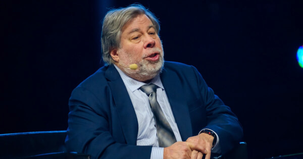 Apple Co-Founder Steve Wozniak's WOZX is Best Performing Crypto as Price Rallies 100% Again