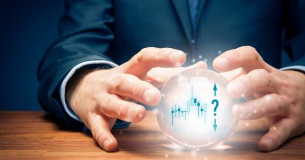 crystal ball demonstrating stock market uncertainty