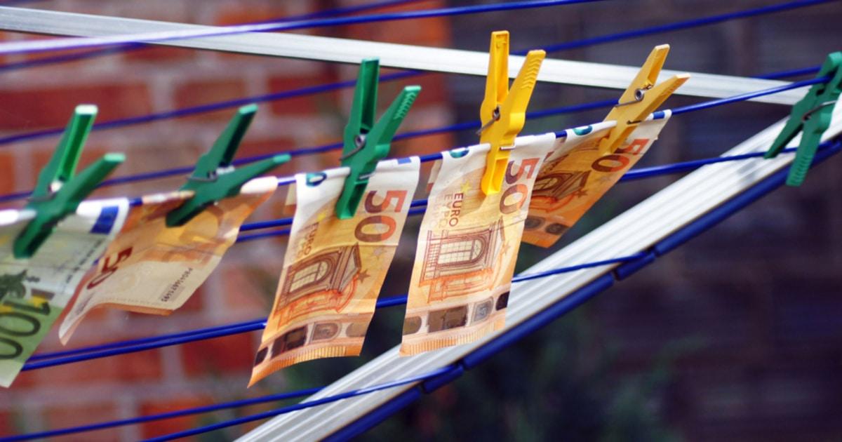 concept of money laundering euros