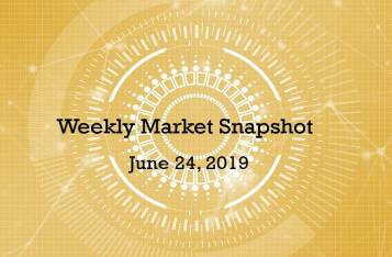 Weekly Market Snapshot - June 24, 2019