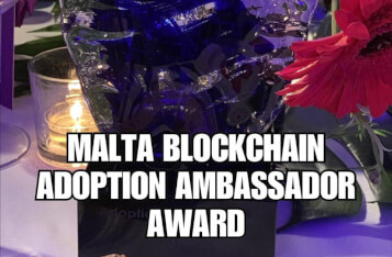 EuropeChain wins Adoption Ambassador at Malta AIBCsummit 19