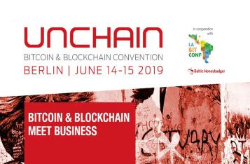 (Press Release) Crypto summer in Berlin: This year's UNCHAIN Convention arranges celebration days with high profile crypto pioneers again!