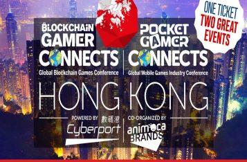 Blockchain Gamer & Pocket Gamer Connects Hong Kong 2019