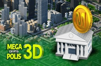 Ethereum City Builder MCP3D Goes DeFi with $MEGA Token October 28