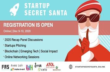 Startup Secret Santa – Bridging Startups, Mentors, VCs and Industry Experts