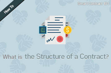 Smart Contract 101: What is the Structure of a Contract?